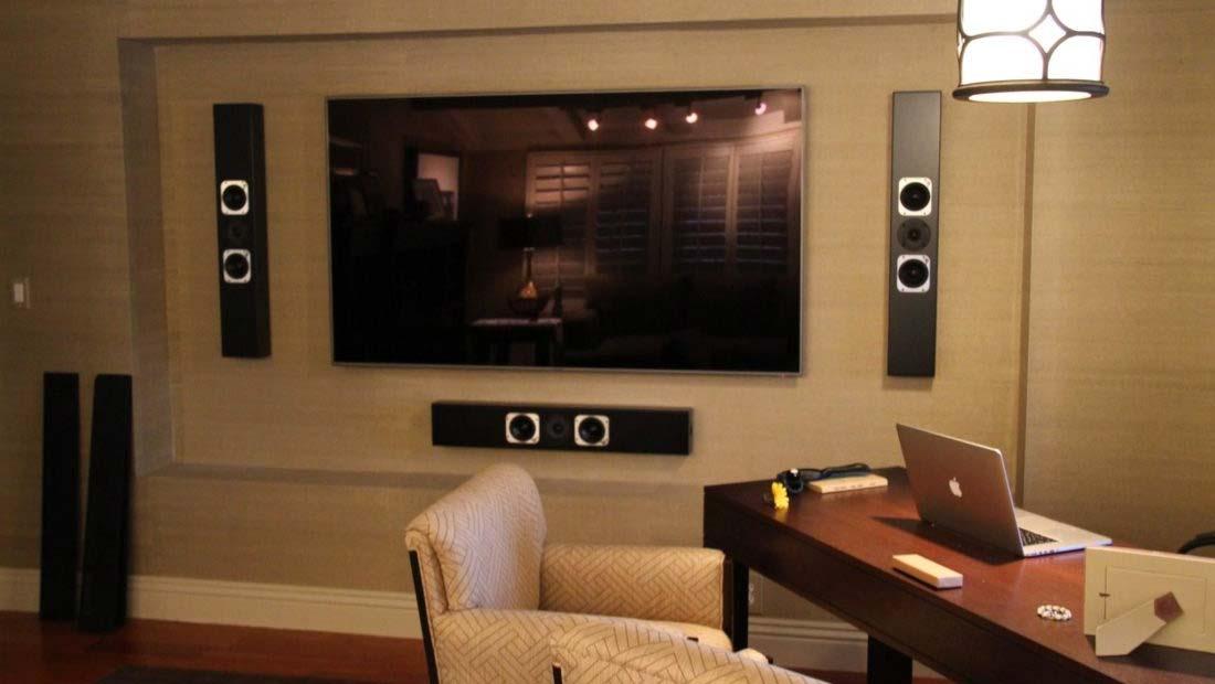 audio casa inteligente