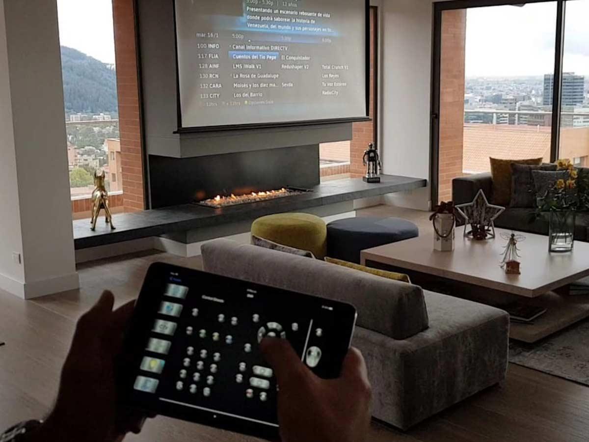 sistema de audio inteligente y video