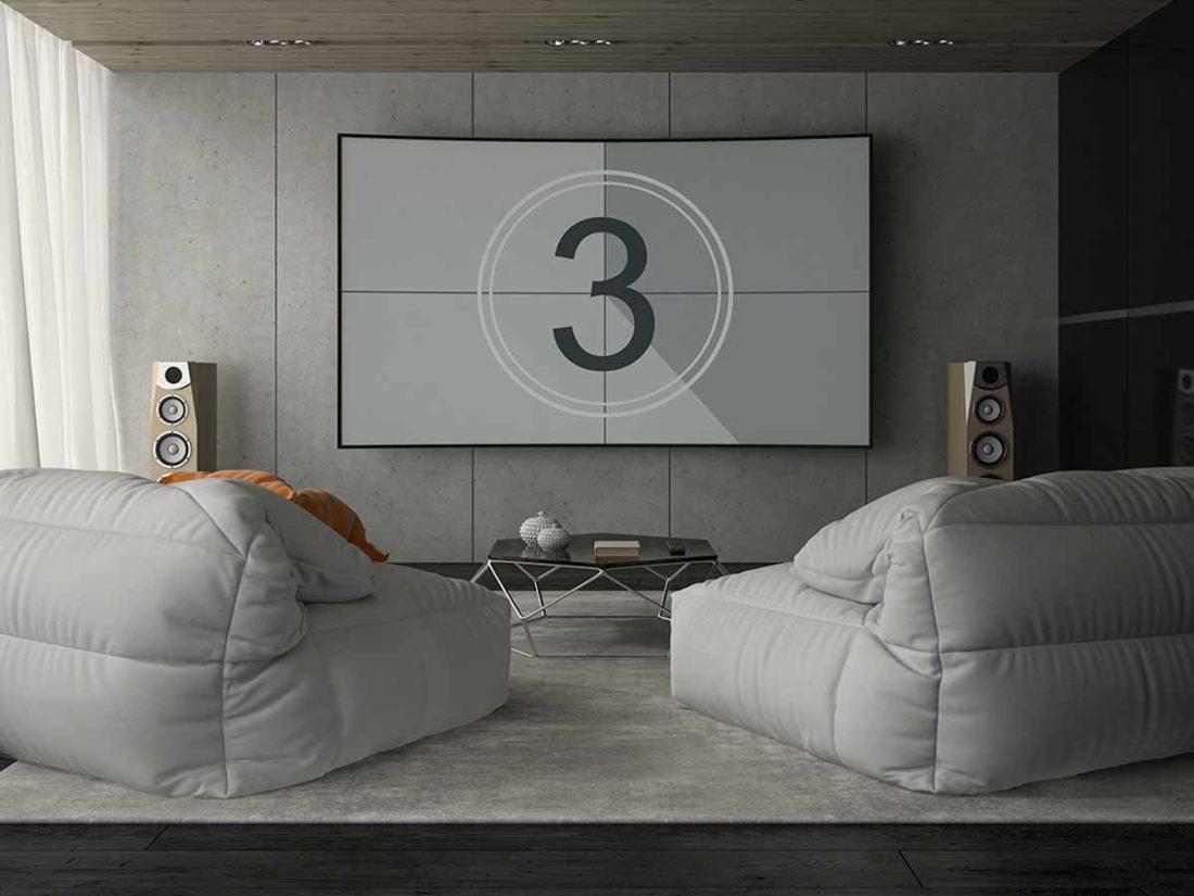sistema de cine en casa