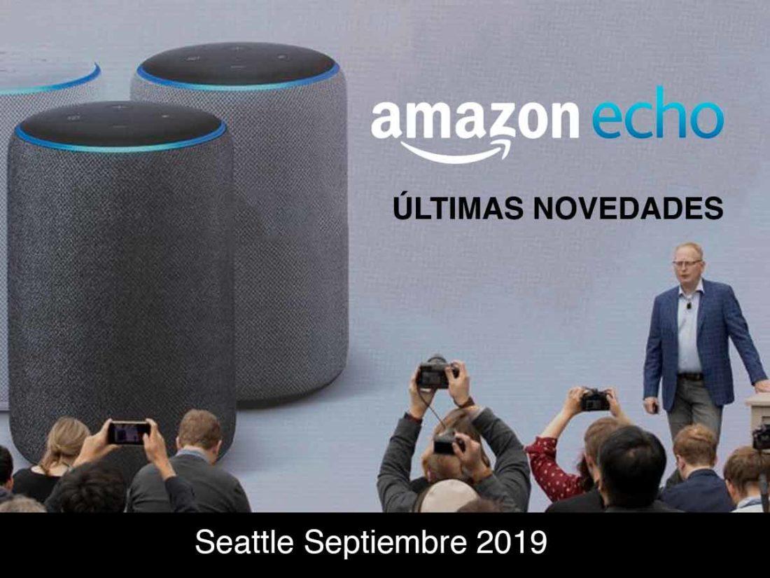 novedades de Amazon Echo