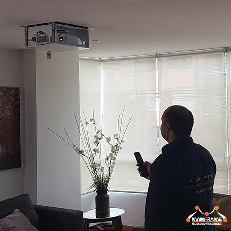 Home Cinema Ascensor Inteligente Video Proyector