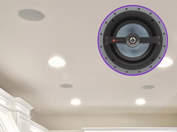 sonido inteligente parlante empotrado techo